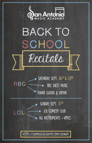 Back2School Poster