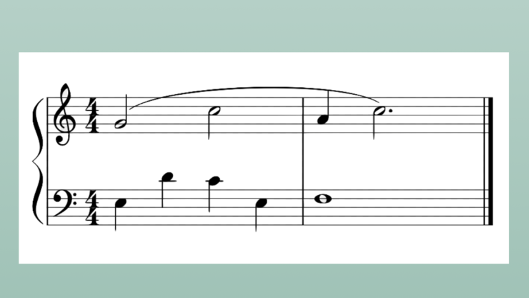 A Musical Puzzle